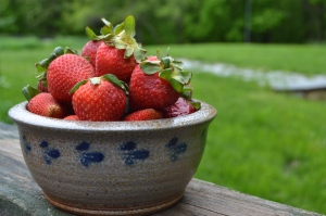Grandma's strawberry pie