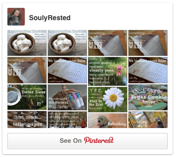 Follow SoulyRested on Pinterest!