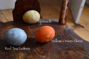 all-natural egg dye