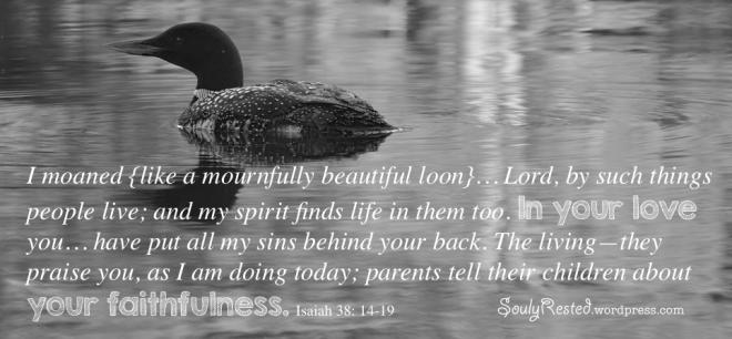 Isaiah 38 14 to 19