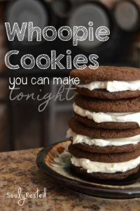 Whoopie Cookies you can make tonight