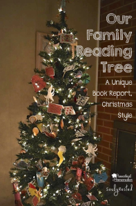 Our Family Reading Tree A Unique Book Report, Christmas Style