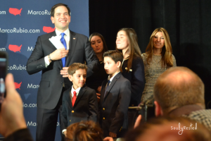 Marco Rubio and his family