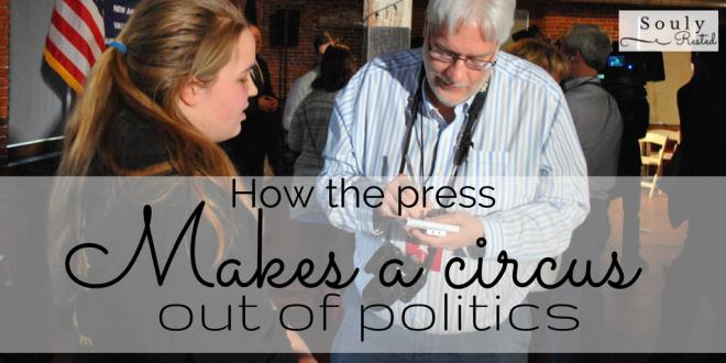 the press makes a circus