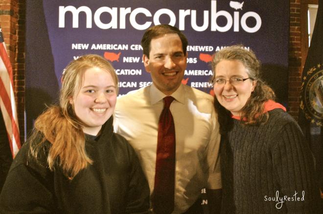 When I Met Senator Rubio
